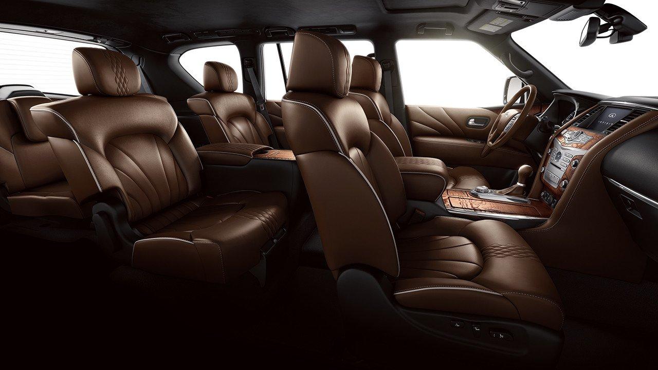 Infiniti qx80 2017 interior