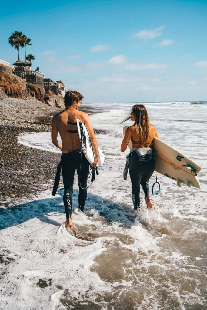a couple surfing love quotes