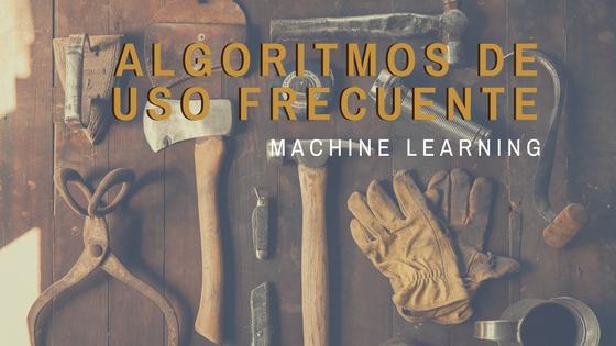 Principales Algoritmos usados en Machine Learning