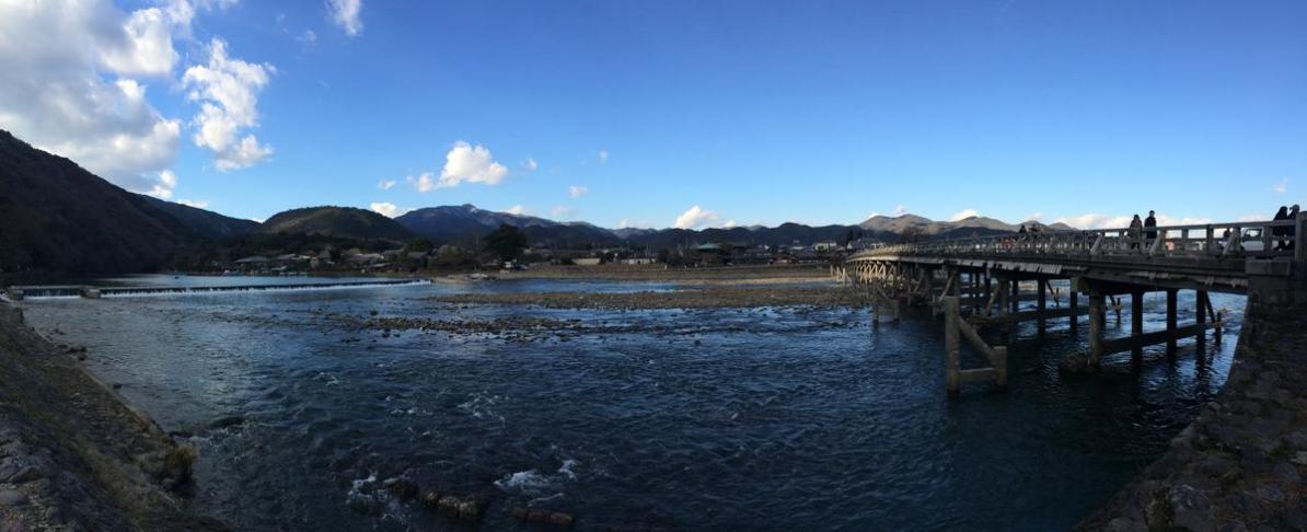 Terakhir mengunjungi Arashiyama, kurang puas. Tapi sekarang momijinya sudah habis sih.