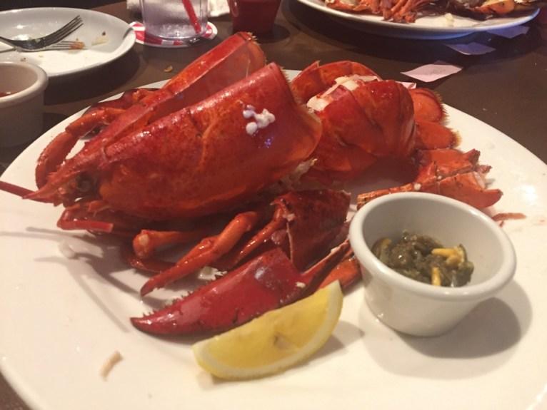Red Lobster Aquaticy Odaiba
