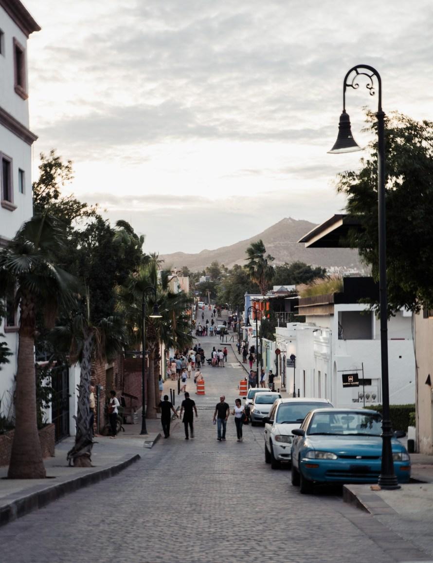 Street in San Jose del Cabo