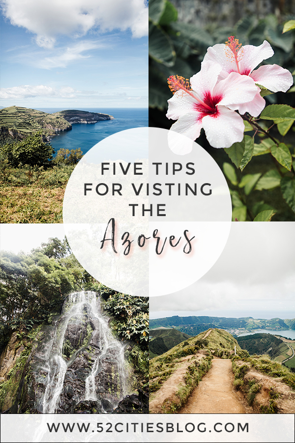 Five tips for visiting the Azores
