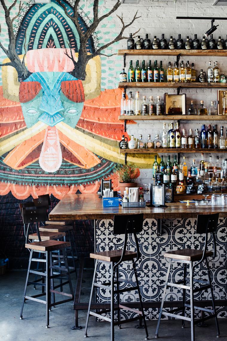 Bar at Tuco's Taqueria