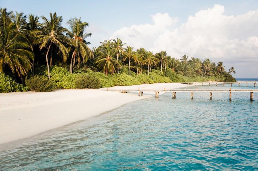 Walkway at the Conrad Maldives