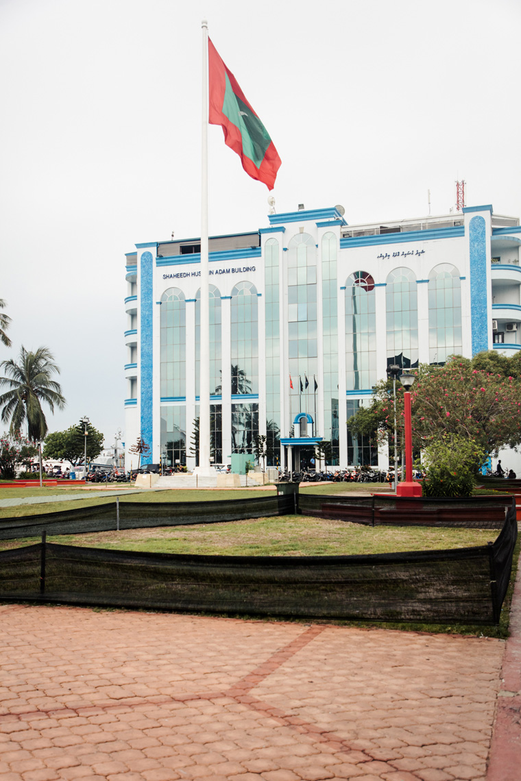 Republic Square in Male Maldives