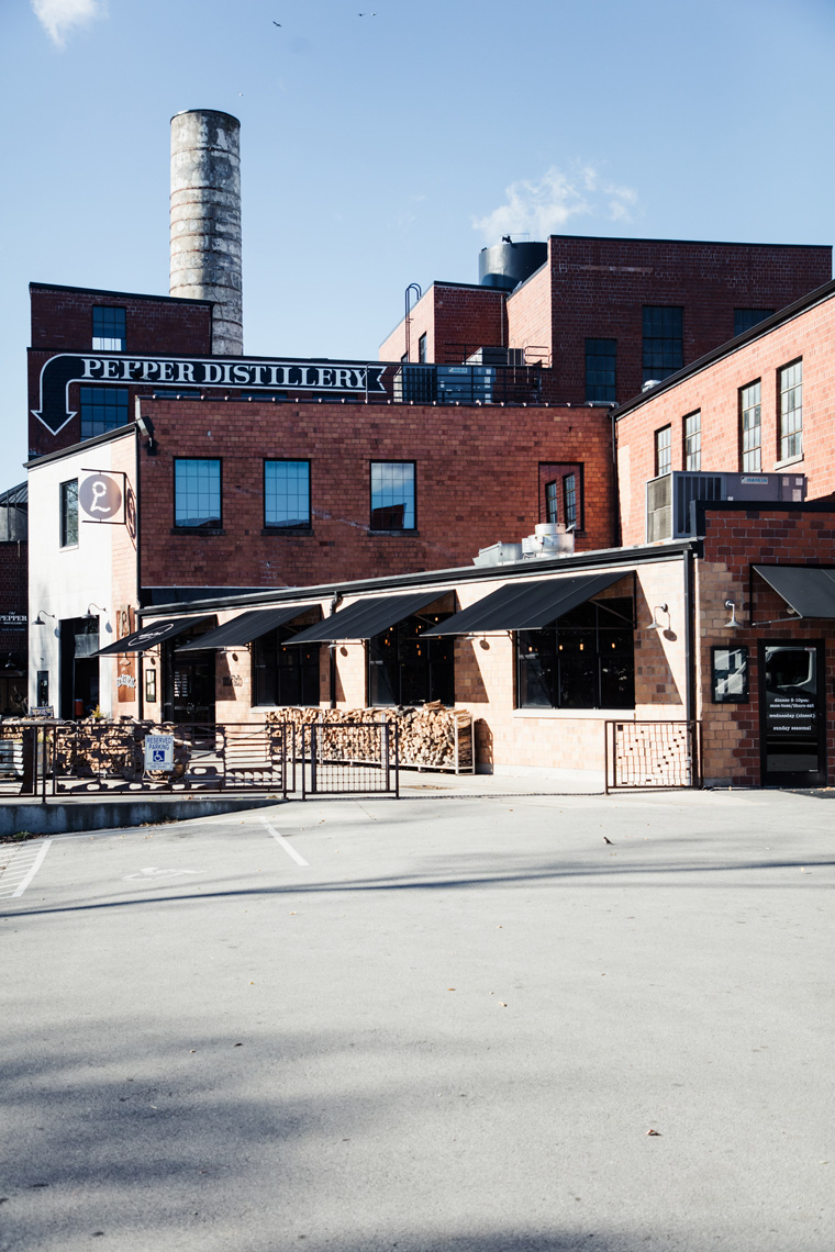 Pepper Distillery exterior