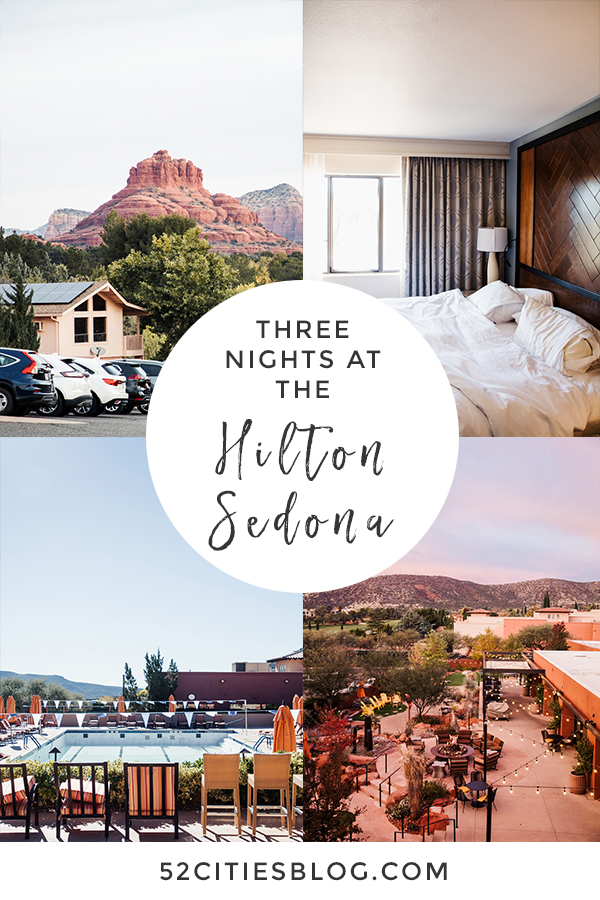 Three nights at the Hilton Sedona