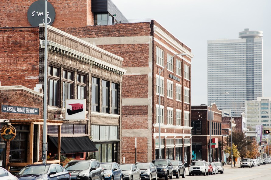 Kansas City red-brick architecture