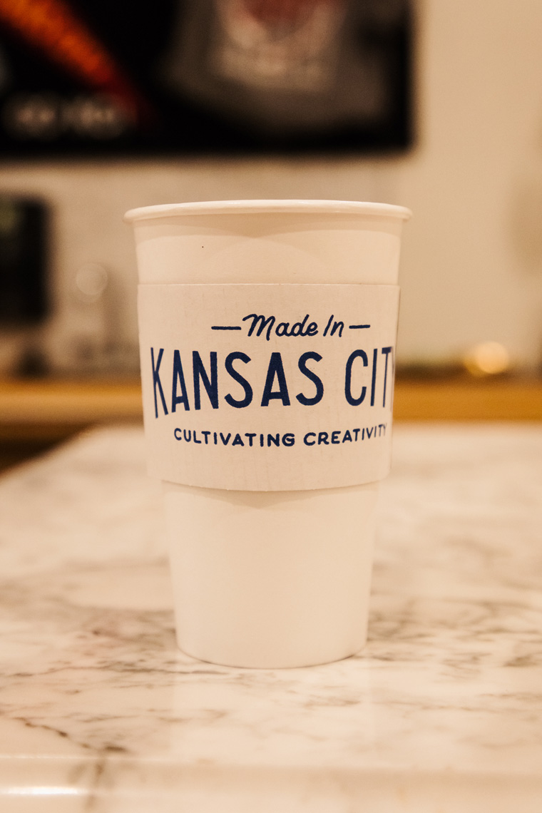 Made in Kansas City coffee cup