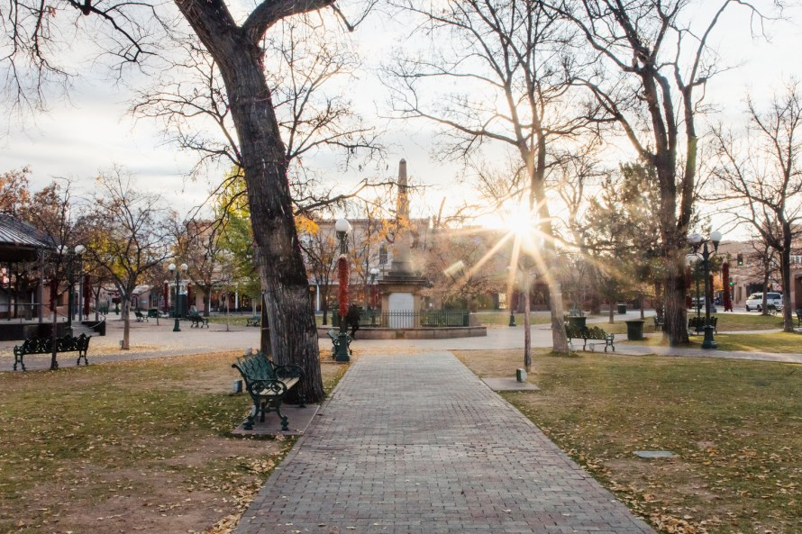 Sunburst at Santa Fe Plaza