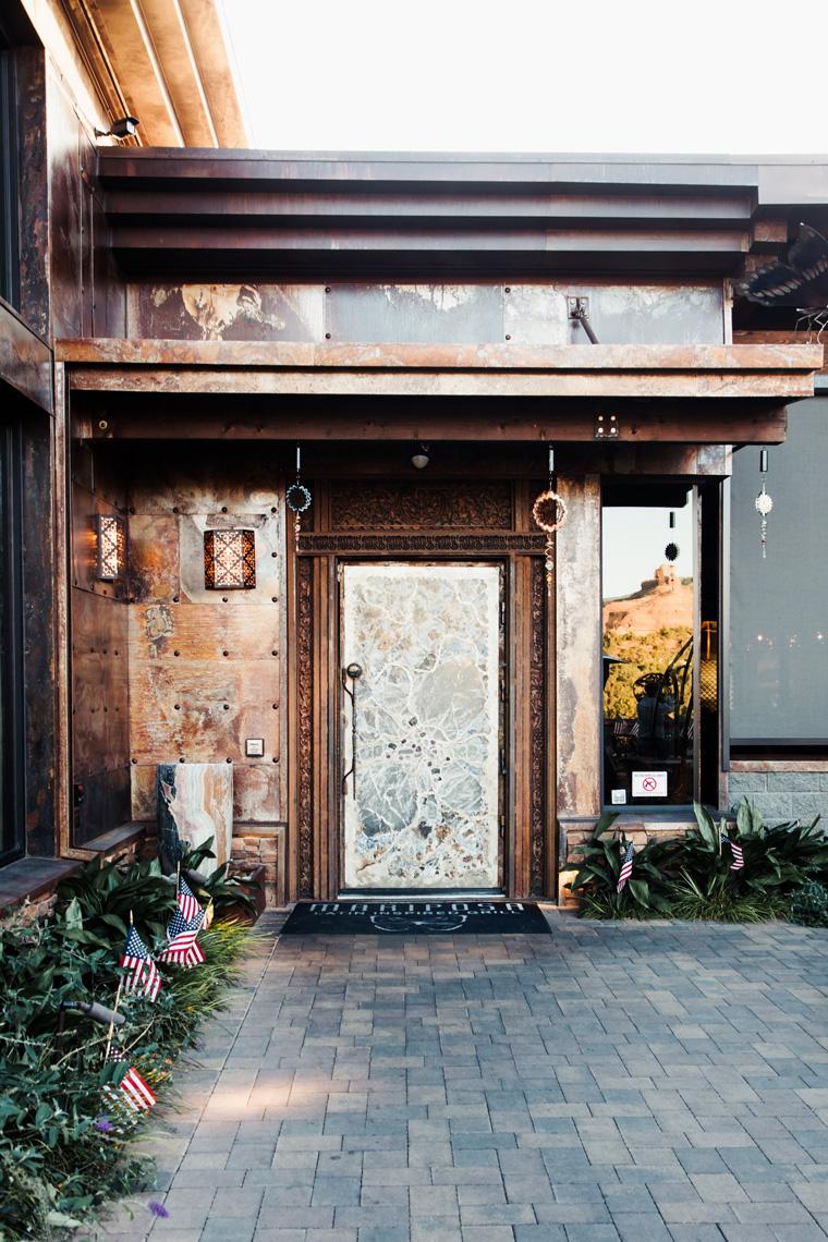 Door to Mariposa