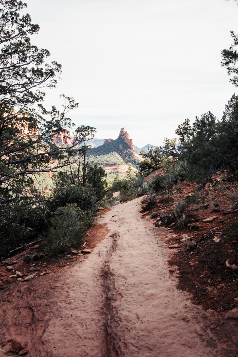 Sedona hiking trail