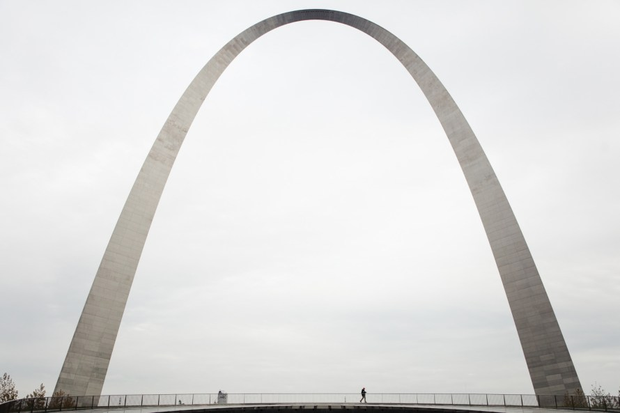 St. Louis Gateway Arch wide view