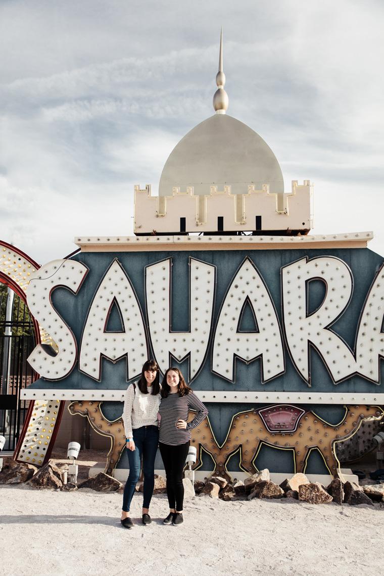 Sahara sign Las Vegas Neon Museum