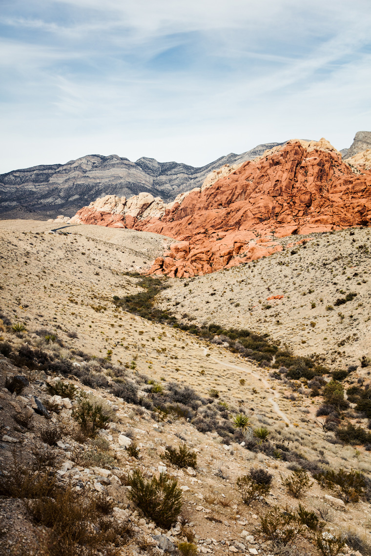 Calico Hills in Red Rock Canyon