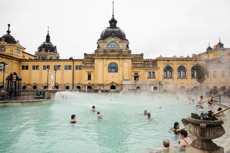 Szechenyi Thermal Baths Budapest bathhouse