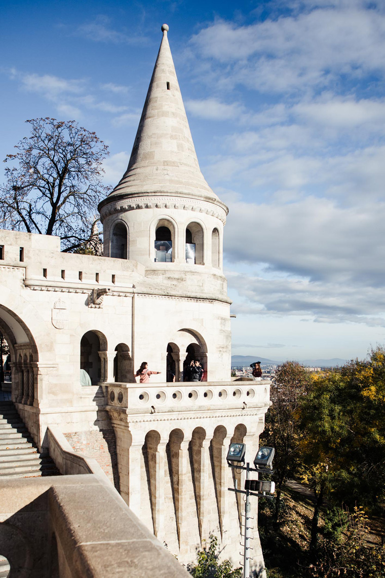 Fisherman's Bastion tower