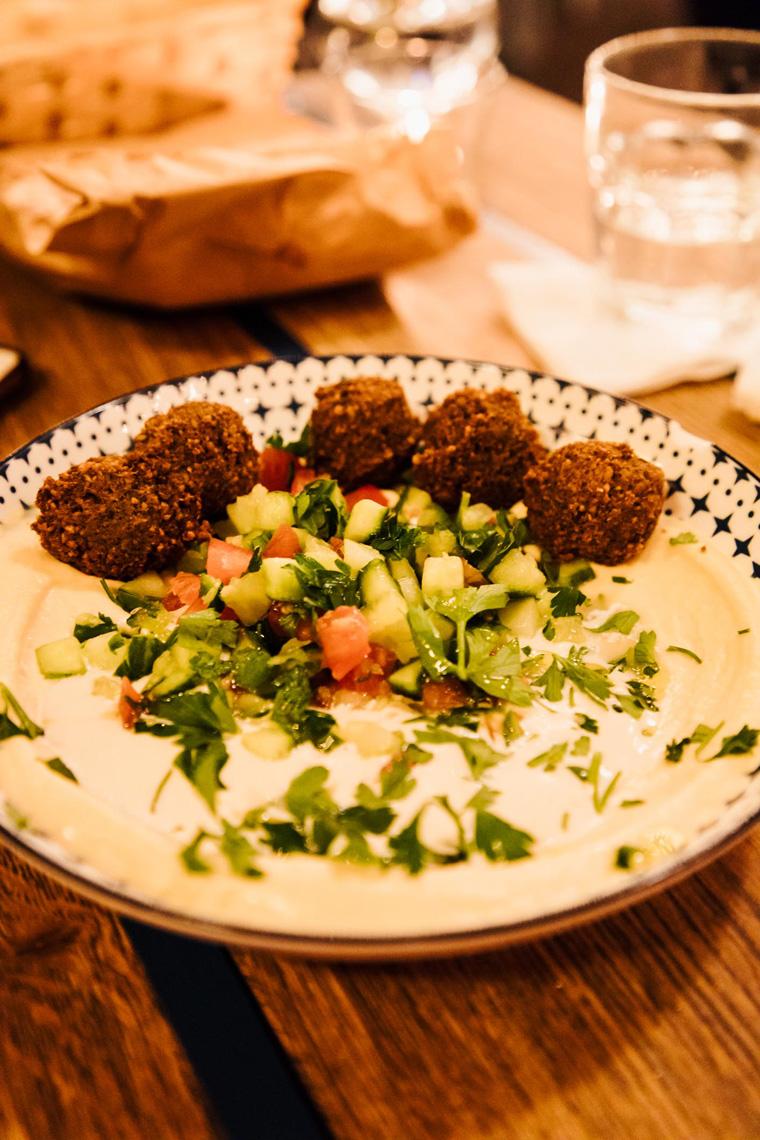 3 days in Budapest - Mazel Tov falafel
