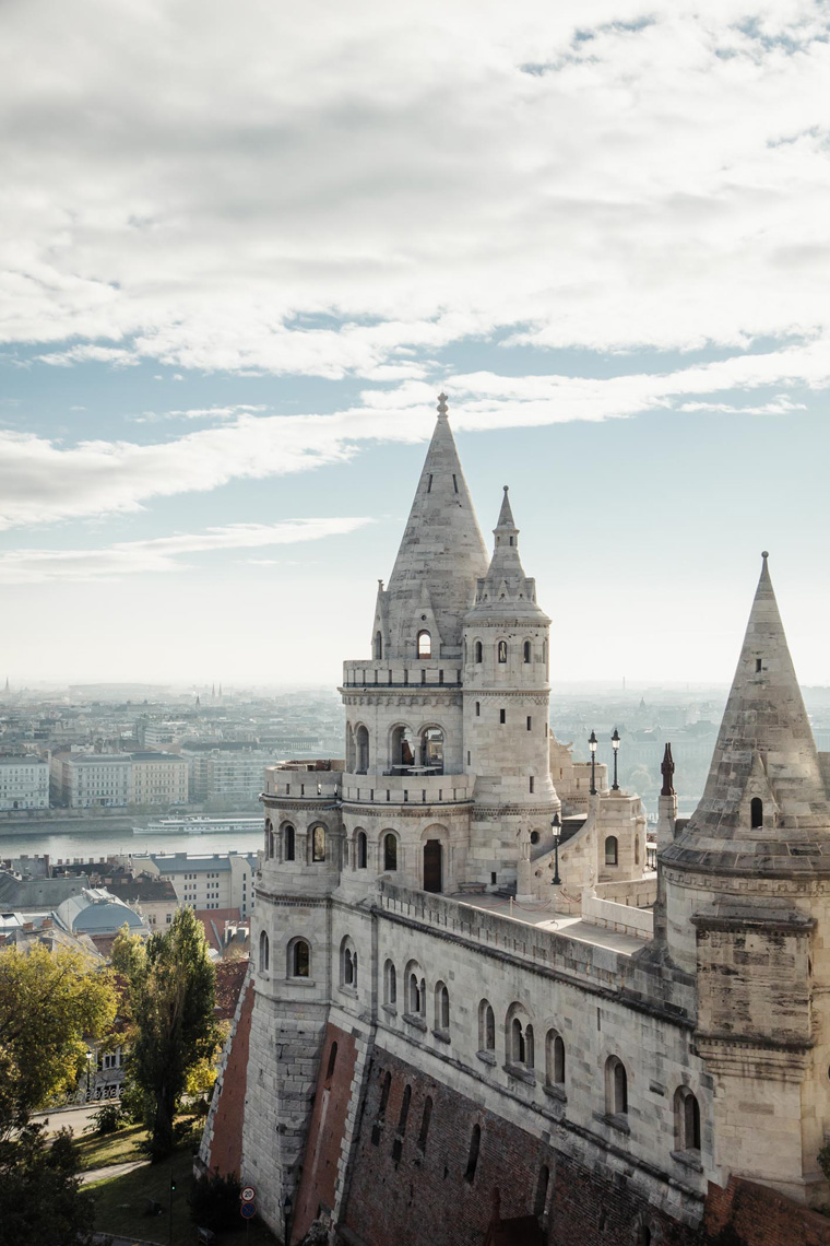 Fisherman's Bastion view