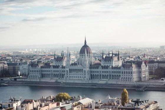 Hilton Budapest Parliament view