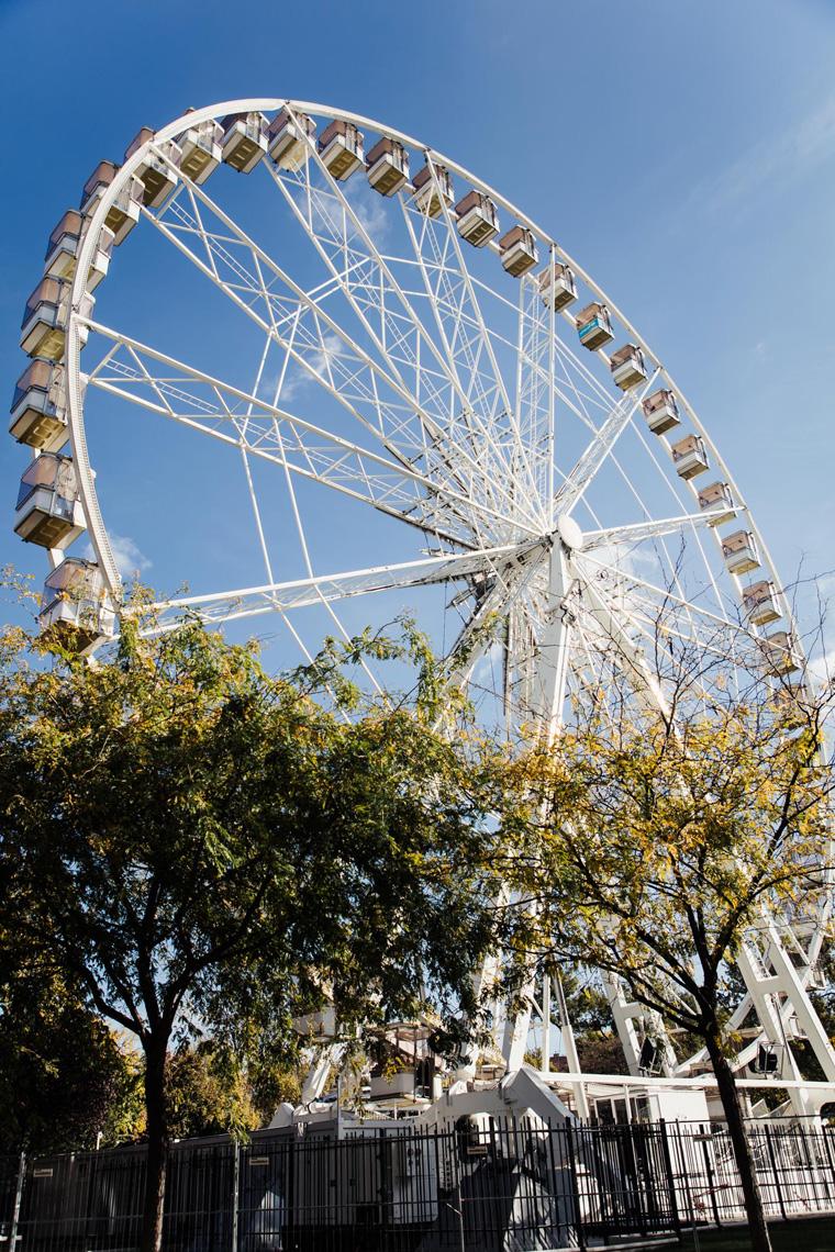 Budapest itinerary - Ferris wheel