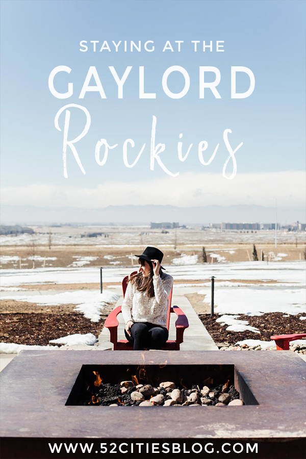 Staying at the Gaylord Rockies
