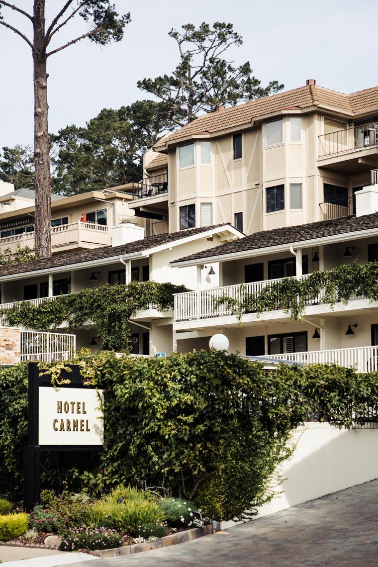 Hotel Carmel exterior