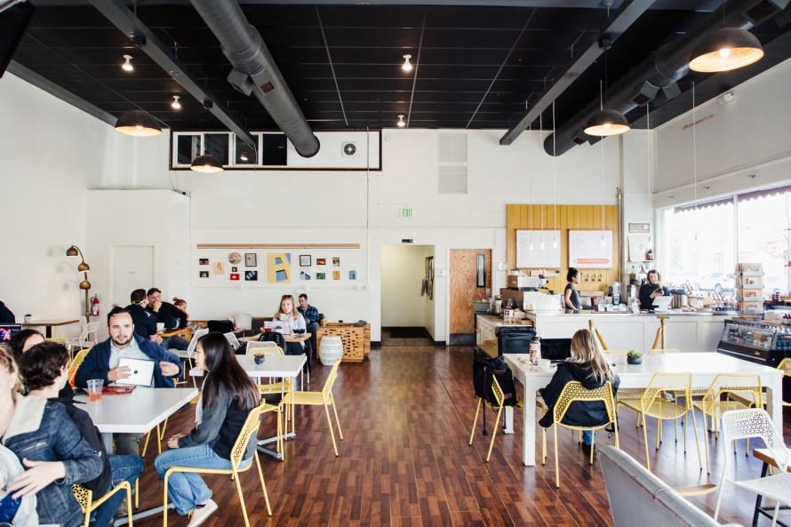 District Coffee House interior