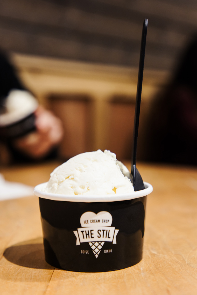 cup of ice cream