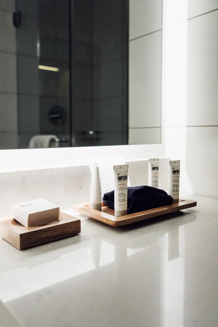 Charter Hotel Seattle toiletries