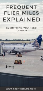 Frequent flier miles explained