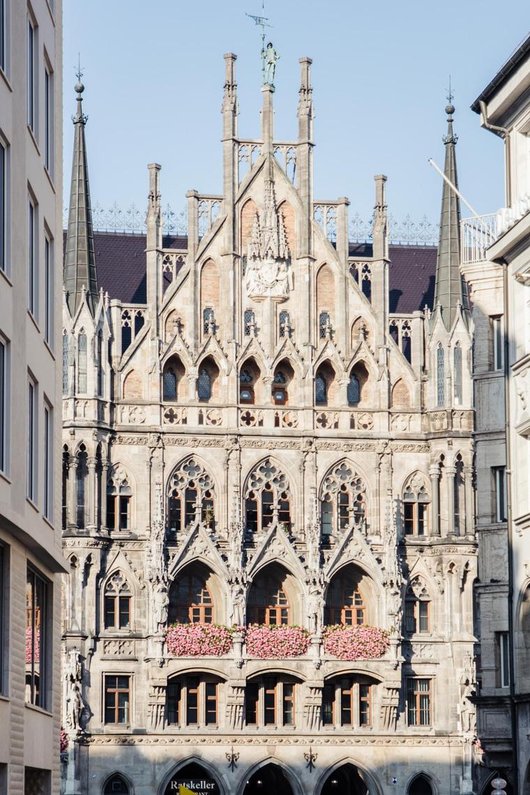Munich church entrance