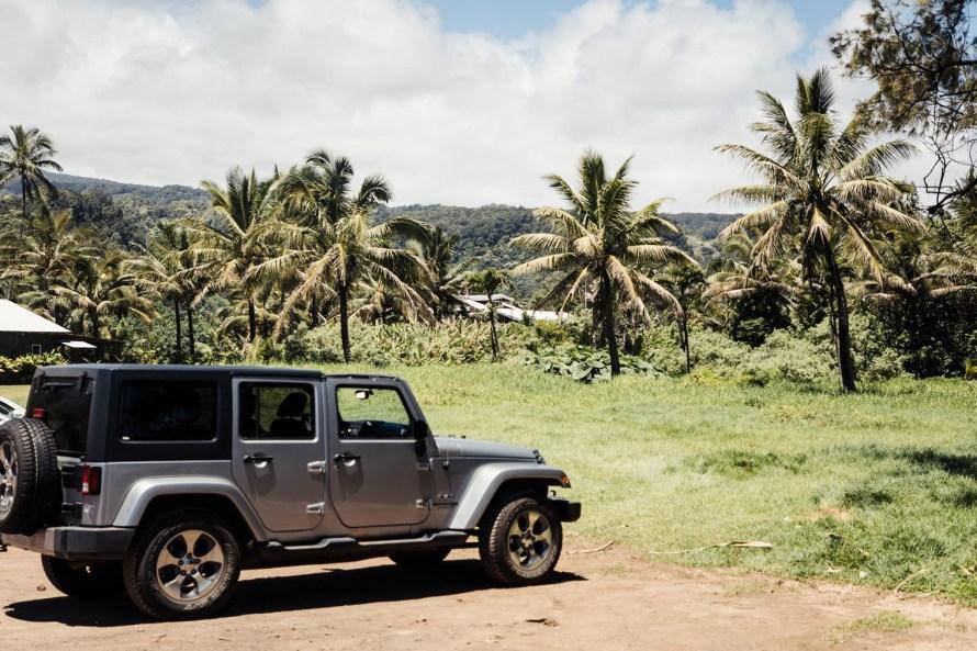 Jeep in Hawaii