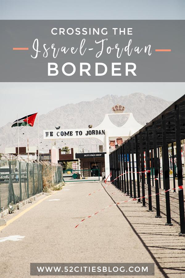 Crossing the Israel Jordan border