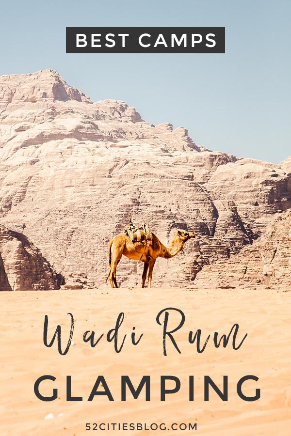 Best camps Wadi Rum glamping