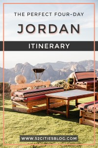 The perfect four-day Jordan itinerary