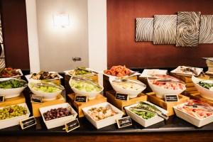 Petra Marriott breakfast spread
