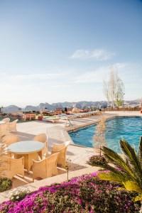 Petra Marriott pool