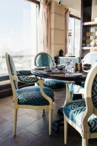 Petra Marriott restaurant table