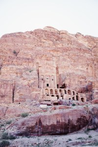 Petra cave dwelling