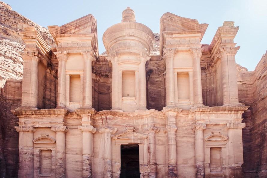 Petra temple
