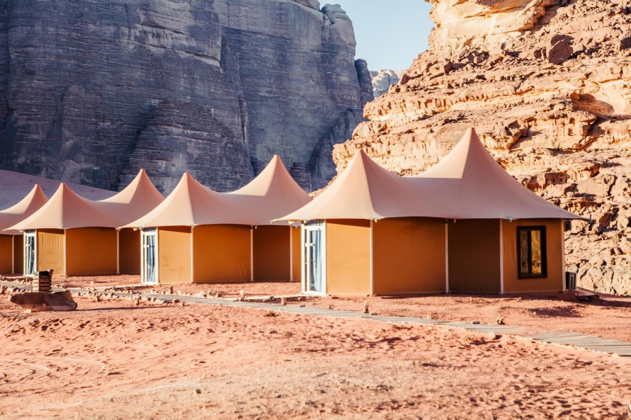 Memories Aicha Luxury Camp tents