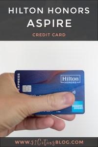 Hilton Honors Aspire credit card review