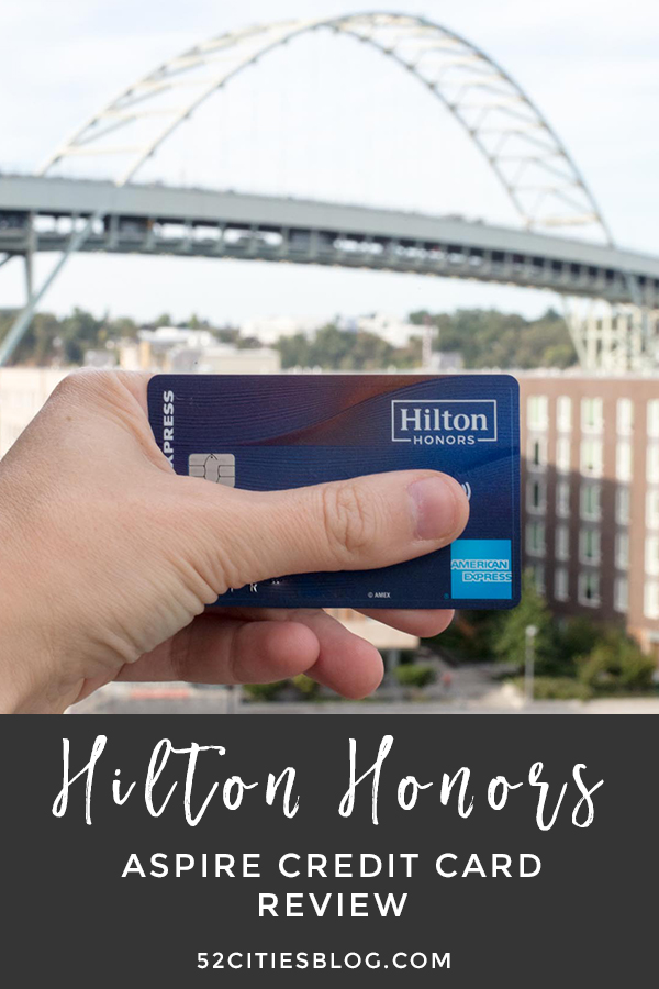 Hilton Honors Aspire credit card review