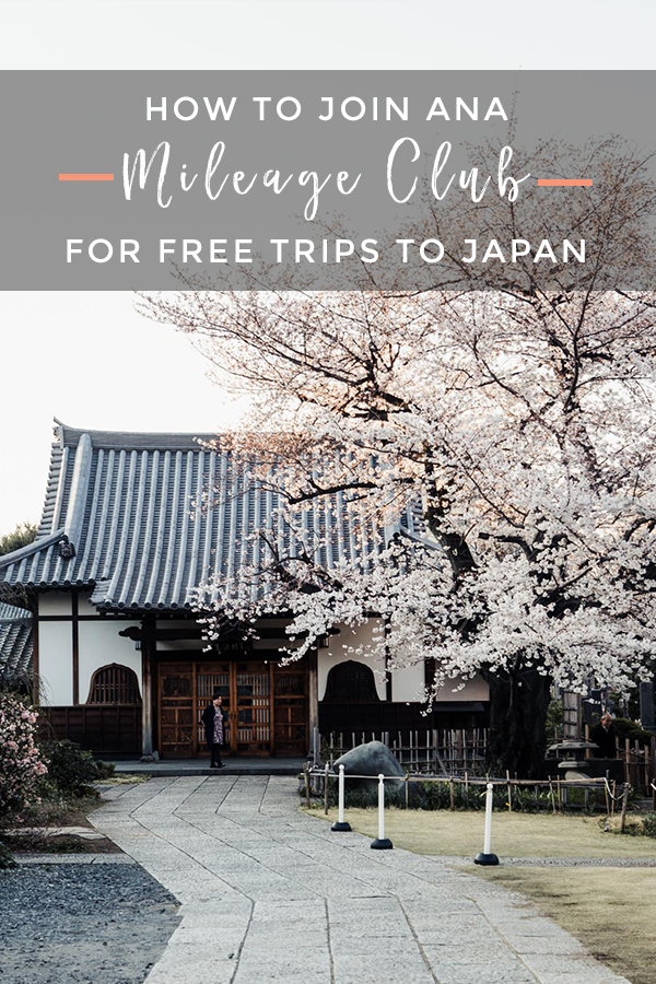 How to join ANA Mileage Club