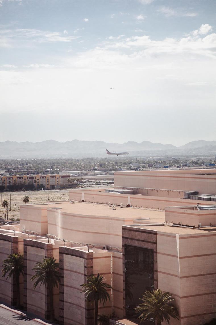 Las Vegas airport view