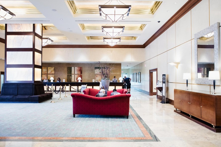 MGM Signature lobby