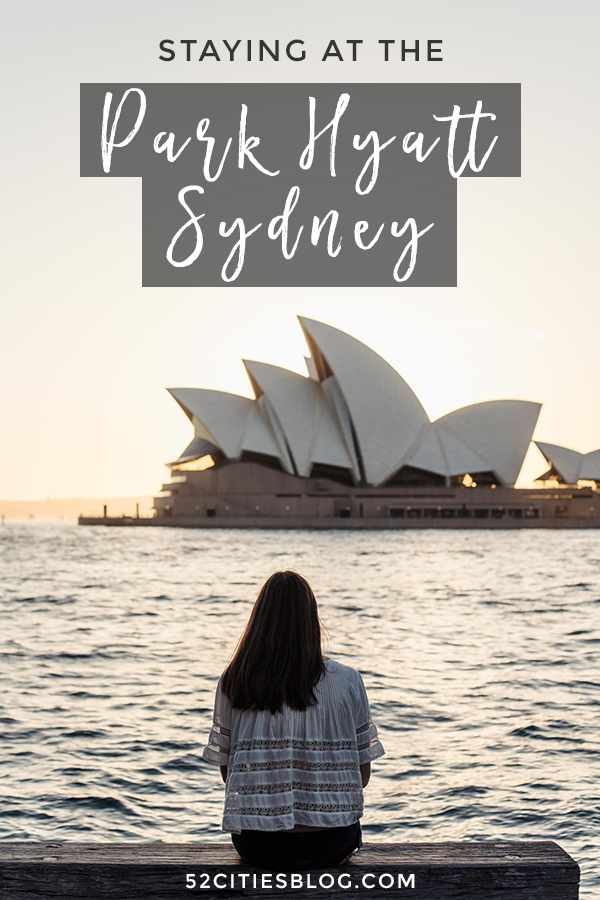 Park Hyatt Sydney review