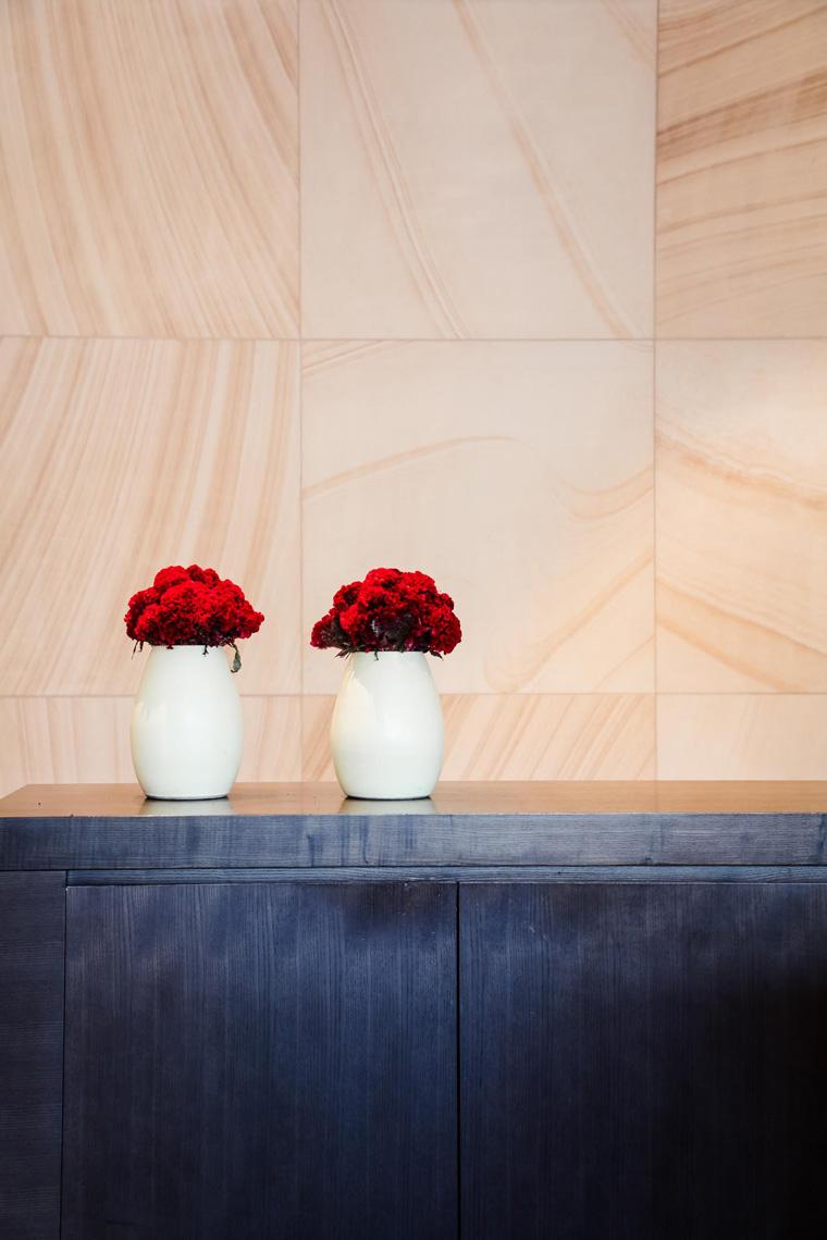 Park Hyatt Sydney lobby flowers
